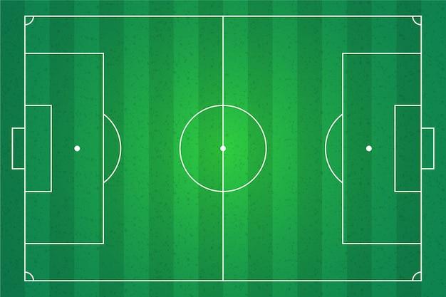 Ilustración de campo de fútbol