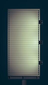 Ilustración de cartelera de luz puntual