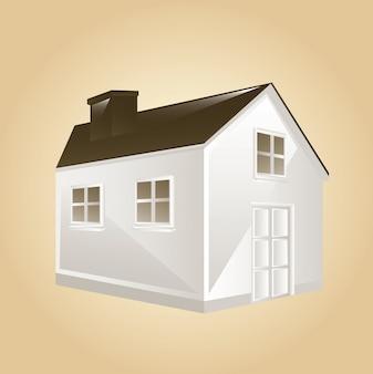 Ilustración de la casa