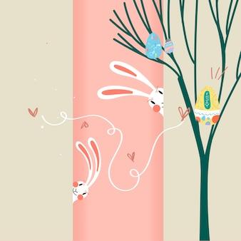 Ilustración de celebración de pascua