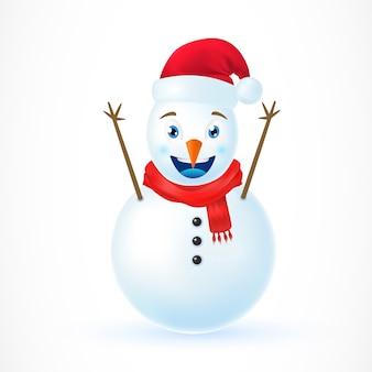 Ilustración de christmas snowman
