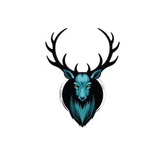 Ilustración de ciervo