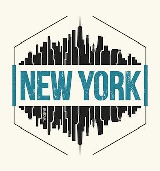 Ilustración de la ciudad de nueva york