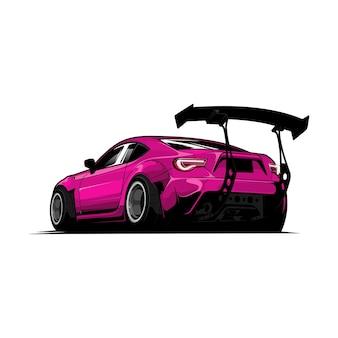 Ilustración del coche
