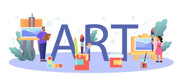 Ilustración colorida profesión