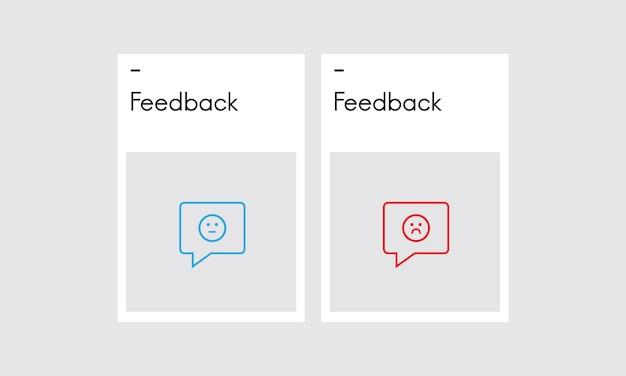 Ilustración de los comentarios de los clientes.
