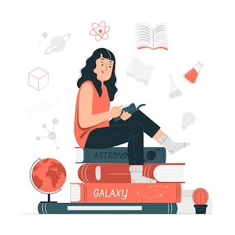 Ilustración del concepto de conocimiento