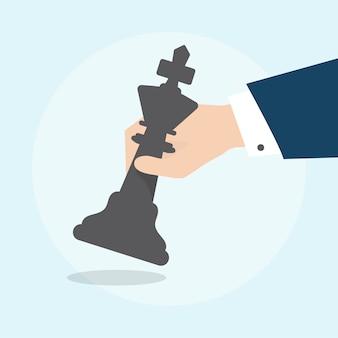 Ilustración del concepto de estrategia empresarial
