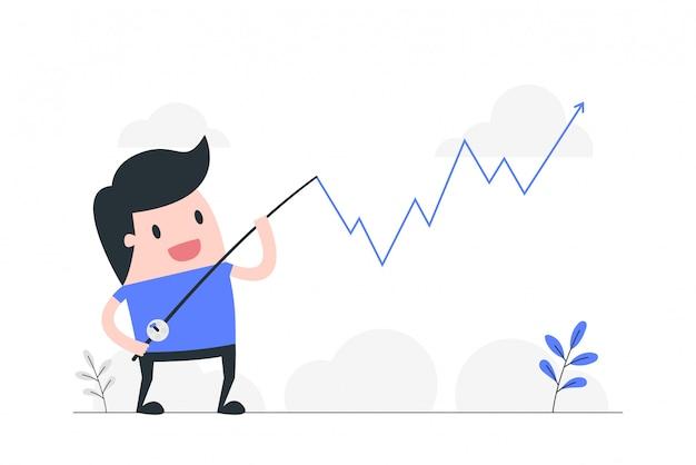 Ilustración de concepto de gestión de crisis.