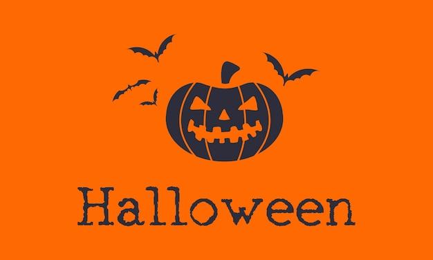 Ilustración del concepto de halloween