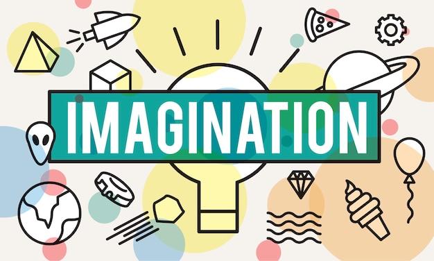 Ilustración del concepto de ideas