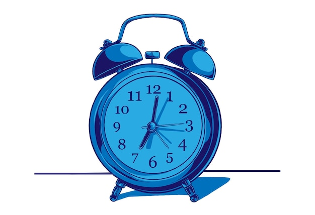 Ilustración del concepto de reloj