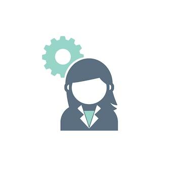 Ilustración del concepto de servicio al cliente