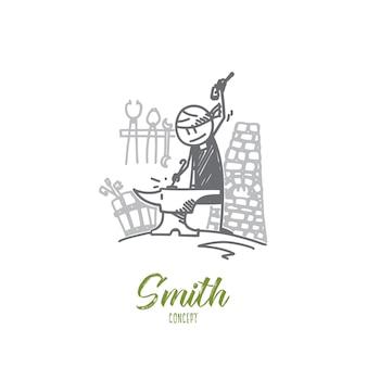 Ilustración del concepto de smith