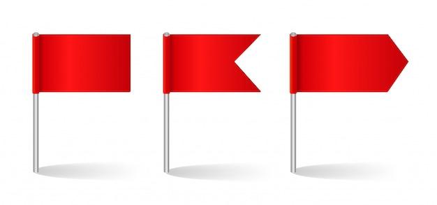 Ilustración del conjunto de banderas