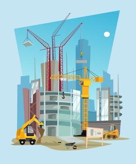 Ilustración de construcción