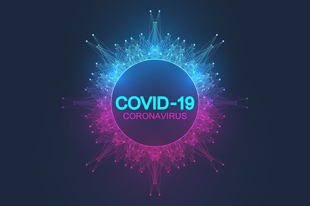 Ilustración de coronavirus