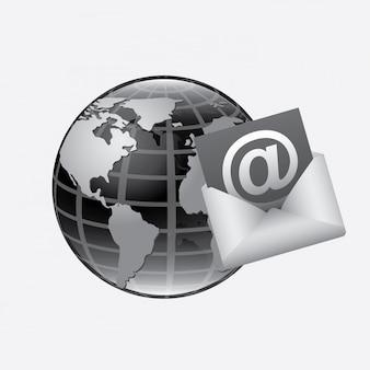 Ilustración de correo