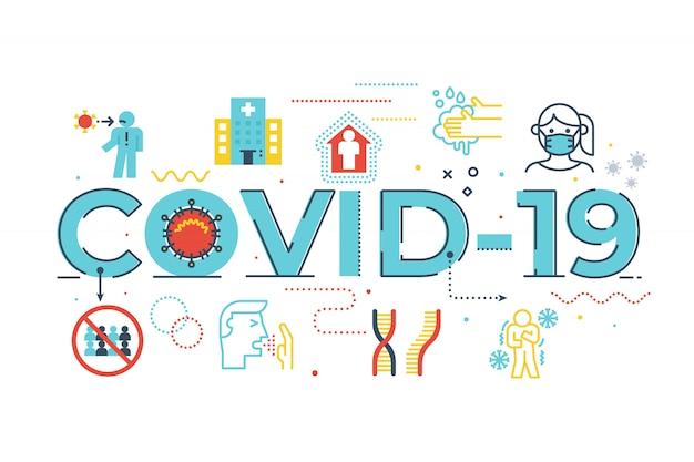 Ilustración covid-19