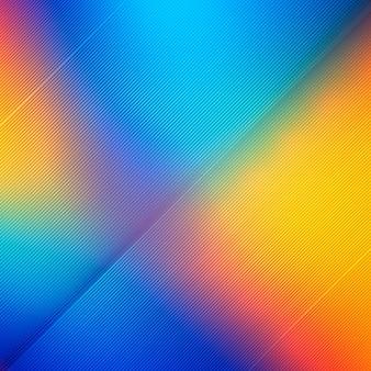 Ilustración de fondo abstracto colorido líneas brillantes