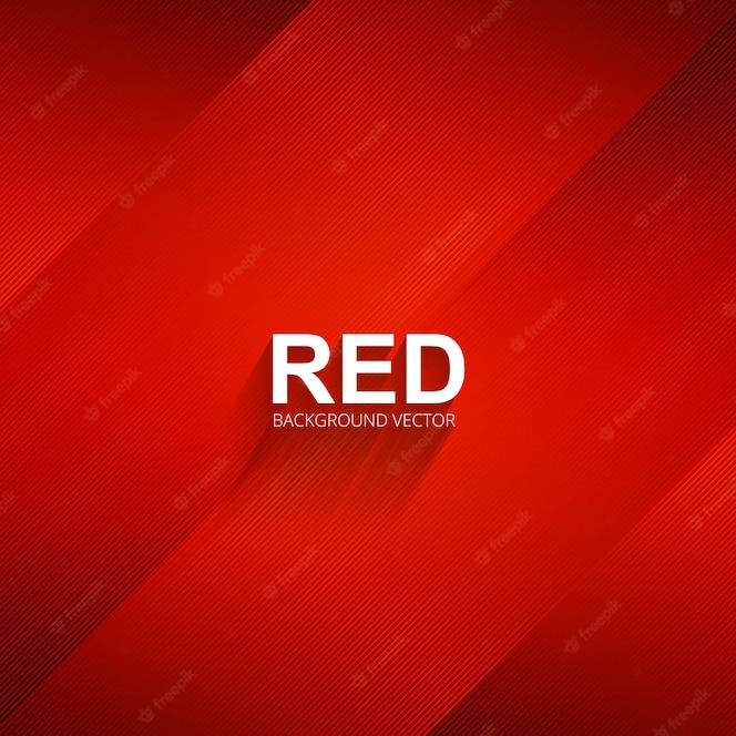Ilustración de fondo elegante líneas rojas