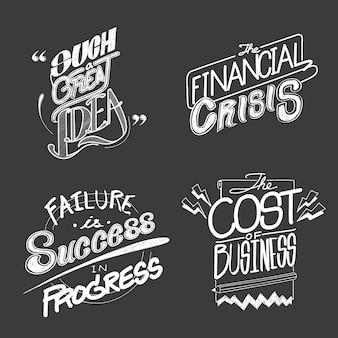 Ilustración de la crisis financiera