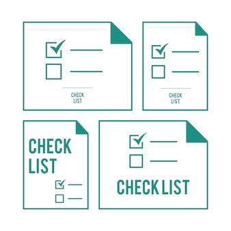 Ilustración de la lista de verificación