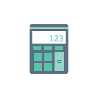 Ilustración de la máquina de la calculadora