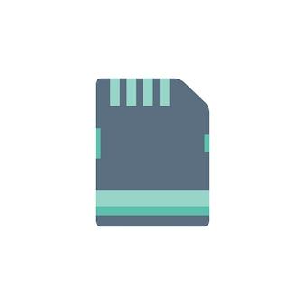 Ilustración de la tarjeta de memoria