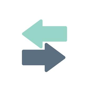 Ilustración de las flechas del interruptor