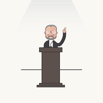 Ilustración de personas avatar