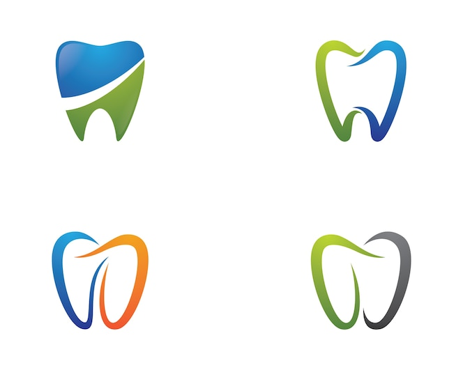 Ilustración de símbolo dental