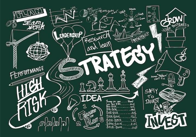 Ilustración del concepto de negocio