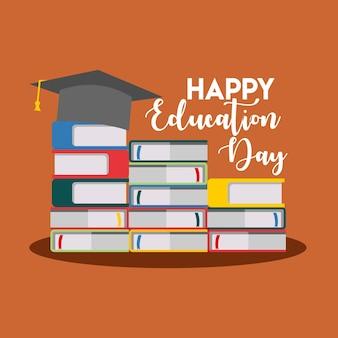 Ilustración del día de la educación