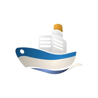 Ilustración del icono de transporte
