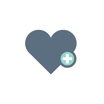 Ilustración del icono del corazón