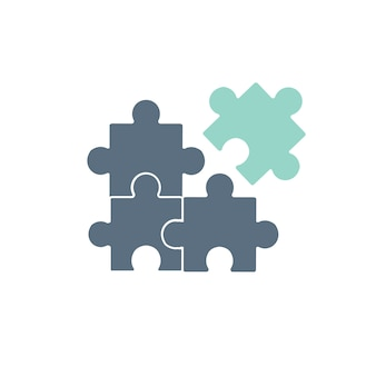 Ilustración del icono del rompecabezas