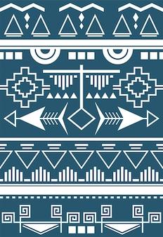 Ilustración del patrón étnico