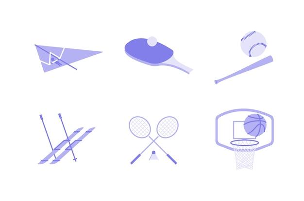 Ilustración de deportes