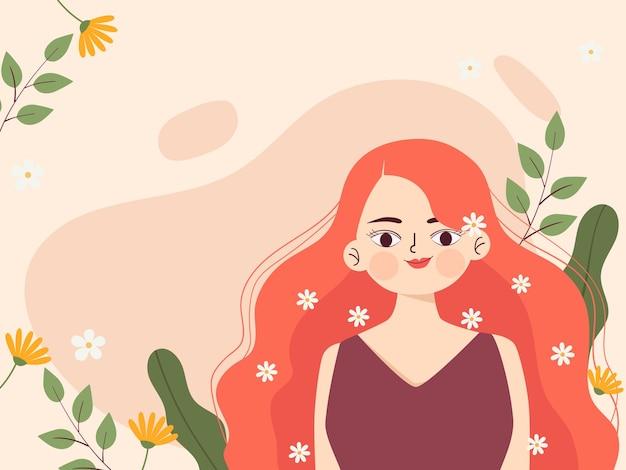 Ilustración para el día de la mujer