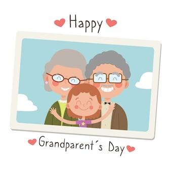 Ilustración del día nacional de los abuelos