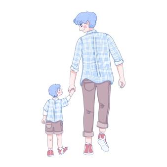 Ilustración del día del padre