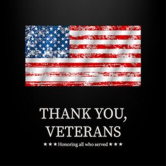 Ilustración para el día de los veteranos.