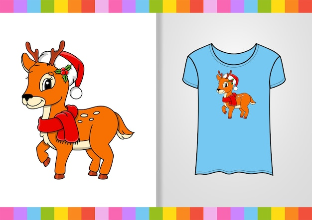 Ilustración de diseño de camiseta