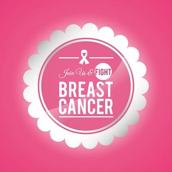 Ilustración de diseño de cáncer