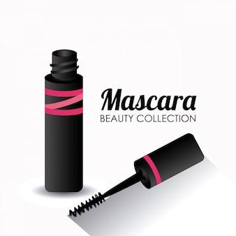 Ilustración de diseño de cosméticos