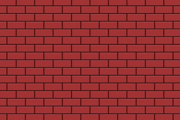 Ilustración de diseño de fondo de pared de ladrillo