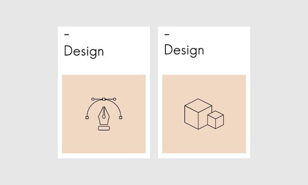 Ilustración de diseño gráfico creativo.