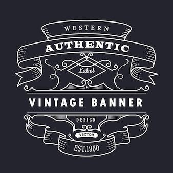 Ilustración de diseño retro dibujado a mano vintage