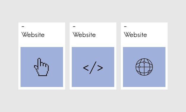 Ilustración de diseño web